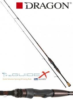 DRAGON ProGUIDE X-Series / spinn x-fast / FUJI 1-10 g  213cm
