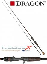 DRAGON ProGUIDE X-Series / cast x-fast / FUJI 1-10 g  198cm