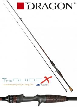 DRAGON ProGUIDE X-Series / cast 1-cz. fast / FUJI 40-90 g 198cm