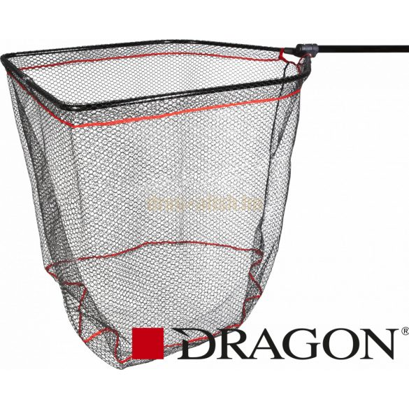 DRAGON GUMIROZOTT TELESZKÓPOS MERITŐ 175cm - Fejméret 75x62cm – Hálóméret 12mm