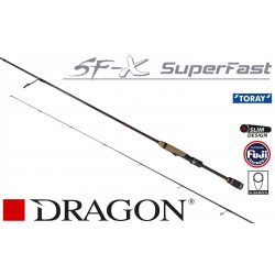 DRAGON CXT SF-X SUPER FAST 1-12g 190cm