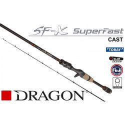 DRAGON CXT SF-X SUPER FAST CASTING 3-18g 198cm