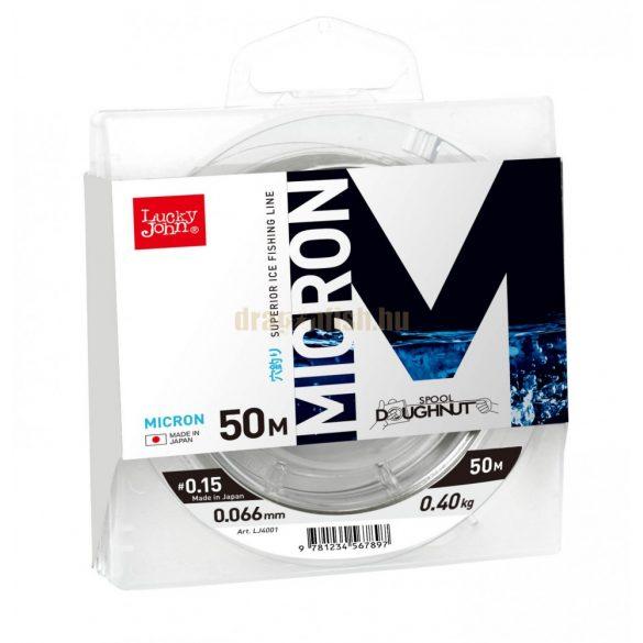 Lucky John Monofil Lékhorgász zsinór MICRON 50m