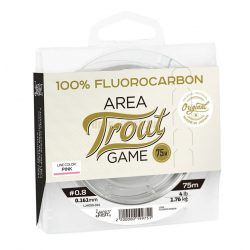 Lucky John line FLUOROCARBON AREA TROUT GAME Pink