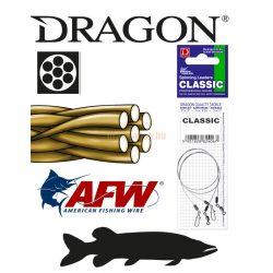 DRAGON 1x7 CLASSIC sursfstrand Szálas fém előke 9kg 30cm