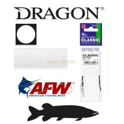 DRAGON invisible Fluorocarbon CLASSIC harapásálló előke sz.: 8kg h.: 20cm