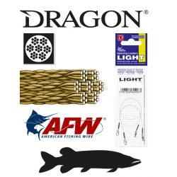 DRAGON 7x7 LIGHT sursfstrand Szálas fém előke 6kg 20cm