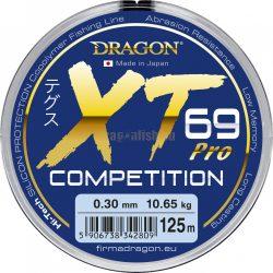 DRAGON XT69 PRO COMPETITION horgász zsinór 125m méret:0.12mm
