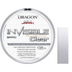 DRAGON Invisible CLEAR 135m Fonott Zsinór