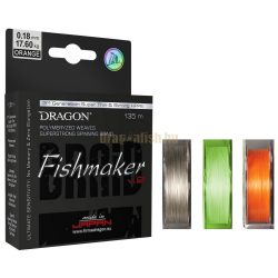 DRAGON Fishmaker v.2 135m Fonott Zsinór