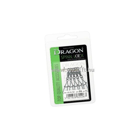Dragon Csapágyas Forfó Kapocs Spinn Lock #2/0