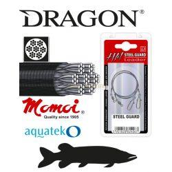 DRAGON HM 7x7 carbon/steel fém előke 6kg 20cm