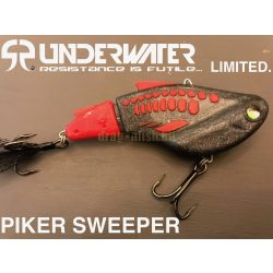 PIKER MEGA SWEEPER UNDERWATER LIMITED Súly:60g Méret: 88mm  Szín: FEKETE-PIROS