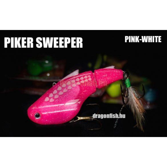 PIKER SWEEPER Súly: 22g Méret: 70mm  Szín:PINK-FEHÉR