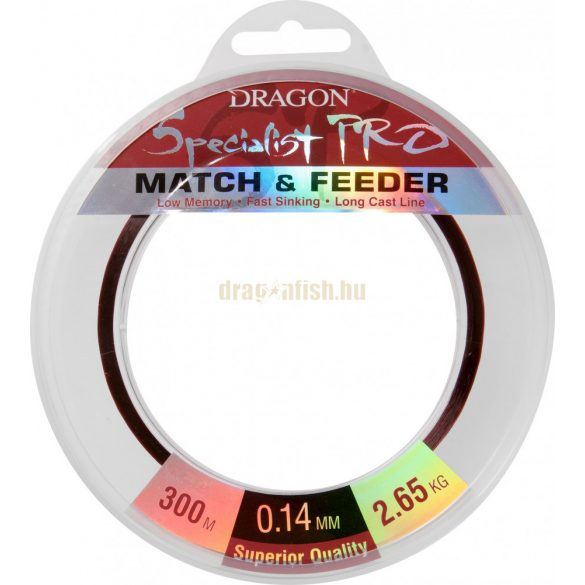 Dragon SPECIALIST Pro MATCH & FEEDER 300m 0,23mm 6,45kg