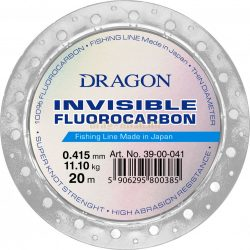 DRAGON invisible Fluorocarbon CLASSIC 20m 0,235mm 3,95kg