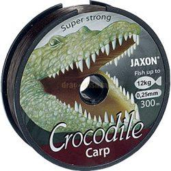 JAXON CROCODILE CARP LINE 0,25mm 300m 12kg