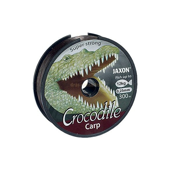 JAXON CROCODILE CARP LINE 0,25mm 300m 12kg