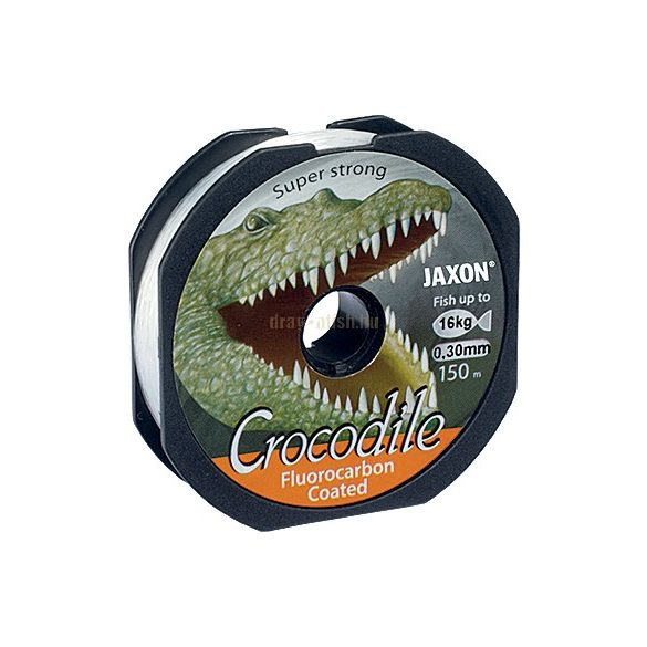 JAXON CROCODILE FLUOROCARBON COATED LINE 0,25mm 2x150m 12kg