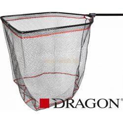 DRAGON GUMIROZOTT TELESZKÓPOS MERITŐ 160cm - Fejméret 65x55cm – Hálóméret 12mm
