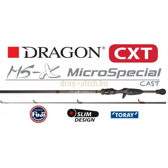 DRAGON CXT MS-X MICRO SPECIAL CASTING 2,5-16g 228cm