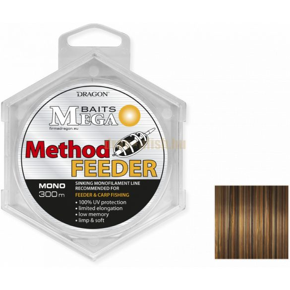MegaBAITS METHOD FEEDER SINKING 0,28mm 300m 7,10kg