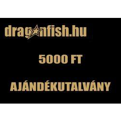 AJÁNDÉKUTALVÁNY  5.000Ft ÉRTÉKBEN